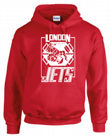 LONDON JETS HOODIE - INSPIRED BY RIMMER LISTER CAT KRYTEN RED DWARF